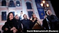 Сторонники Зурабишвили эмоционально реагируют на данные экзитполов