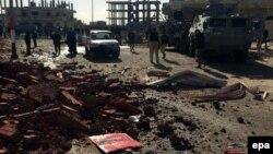 Архівне фото: на місці нападу екстремістів на поліцію Єгипту на Синаї, Ель-Аріш, 9 січня 2017 року