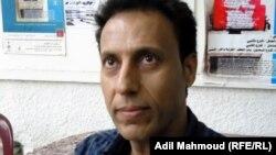 الفنان التشكيلي العراقي عباس مخرّب