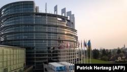 Parlamentul European, sediul de la Strasbourg, Franța.