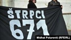 Obilježavanje zločina u Beogradu