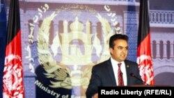 شکیب مستغنی سخنگوی وزارت خارجۀ افغانستان