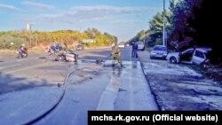 Авария в Кировском районе Крыма