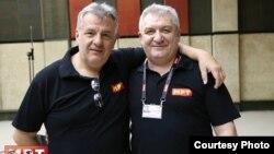 Дамир Имери и Љупчо Мирковски, музичари.