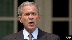 سخنرانی جرج بوش به اعلام برنامه های نظامی آمریکا به ويژه برای عراق و افغانستان اختصاص خواهد داشت.(عکس: AFP)