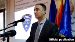 Архивска фотографија- Министерот за внатрешни работи Наќе Чулев