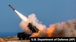Lansare a unei rachete de tip Patriot în Grecia