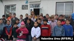 La şcoala auxiliară internat din Nisporeni