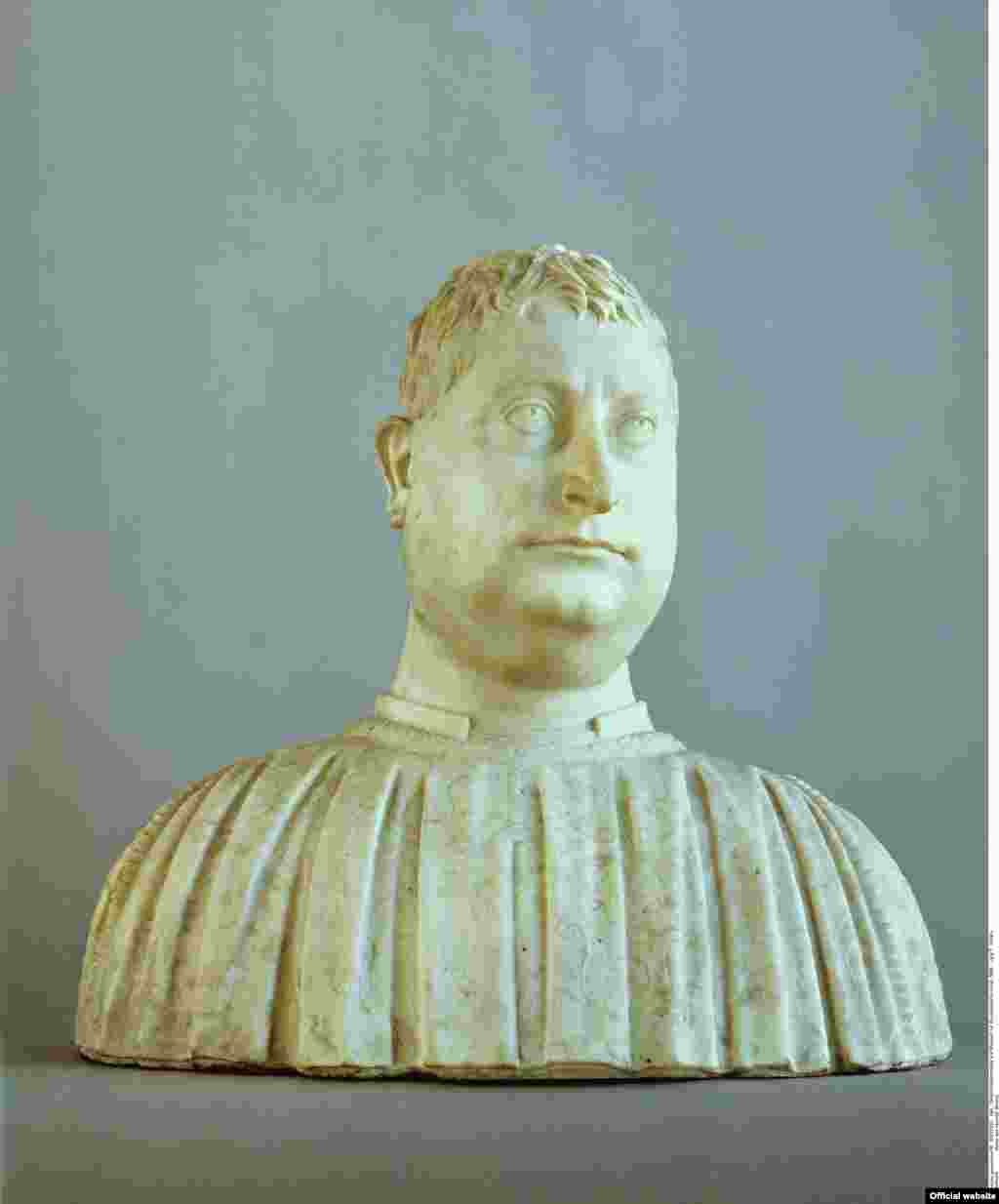 Mino da Fiesole Bust al lui Niccolò Strozzi, 1454 Berlin, National Museums in Berlin, Sculpture Collection © National Museums in Berlin, Jörg P. Anders (photo: Bode Musem press service courtesy)