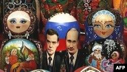 Медведев сурәтле матрешкалар инде әзер