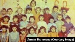 Одноклассники в детстве. 1981 год