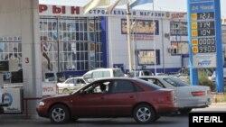 Автозаправочная станция в городе Атырау. Иллюстративное фото.