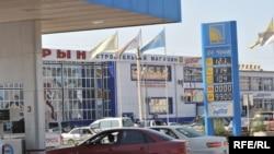 Автозаправочная станция в городе Атырау.