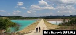 """Odlagalište """"Jezero II"""" u neposrednoj blizini naselja i poljoprivrednog zemljišta"""