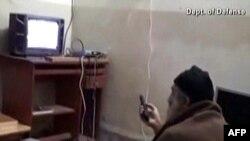 Кадр из домашнего видео Усамы бин Ладена