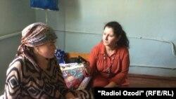 Зарифа собирается рожать здесь своего второго ребенка