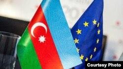 Եվրամիության և Ադրբեջանի դրոշները, արխիվ