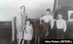 Семья Эндзюлайтисов в ссылке