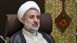 Iran -- Iranian Member of Parliament from the city of Qom, Mojtaba Zonnouri, undated.