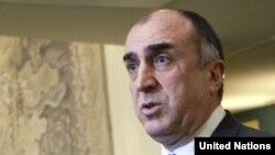 Министр иостранных дел Азербайджана Эльмар Мамедъяров