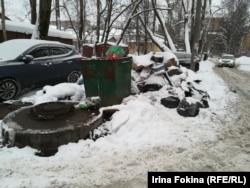 Жители Архангельска недовольны тем, как вывозится мусор