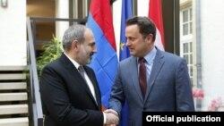 Встреча премьер-министров Армении и Люксембурга, 13 мая 2019 г․