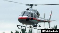 Eurocopter тікұшағы. Көрнекі сурет.