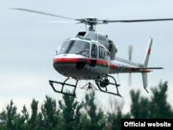 Французский вертолет «Еврокоптер», приобретенный для пограничной службы Беларуси.