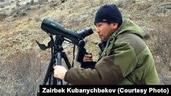 «Илбирс» коомдук фондунун жетекчиси Зайырбек Кубанычбеков