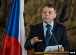 Lubomir Zaoralek șeful diplomației cehe