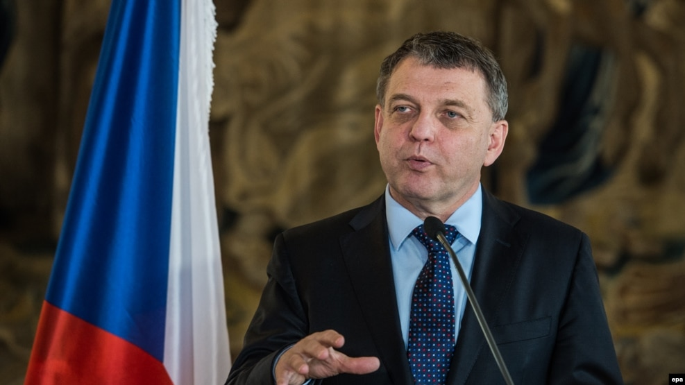 Czech Foreign Minister Lubomir Zaoralek said that no confidential material from the ministry was compromised in the attacks and assured journalists that the ministry's online system was currently secure.