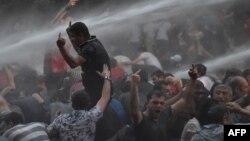 Разгон акции протеста в Ереване ранним утром 23 июня