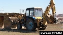 Снос самостроев в Крыму, архивное фото
