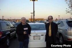Иса Гамбар (слева) и Рамис Юнус, США
