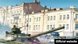 Війська техніка на Хрещатику (архівне фото)