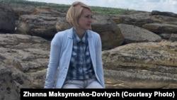 Ірина Лобанова на Кам'яній Могилі, 18 червня 2018 року