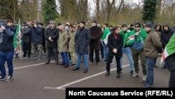 Акция в Страсбурге