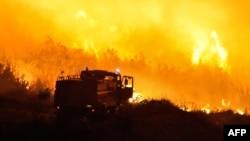 Požar u Trogiru, kolovoz 2012.