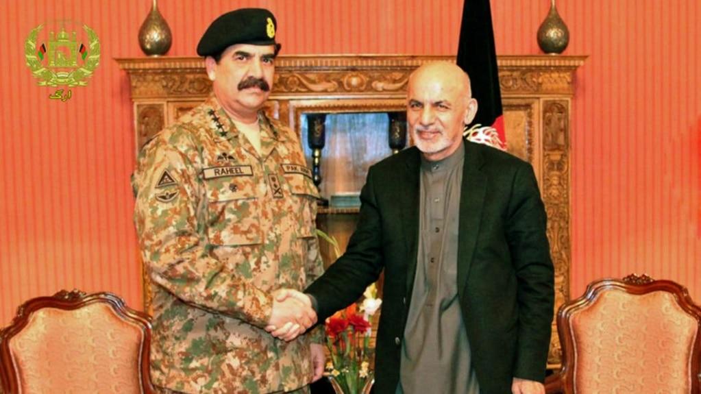 Afghan President Ashraf Ghani recently met Pakistani Chief of Army Staff General Raheel Sharif.