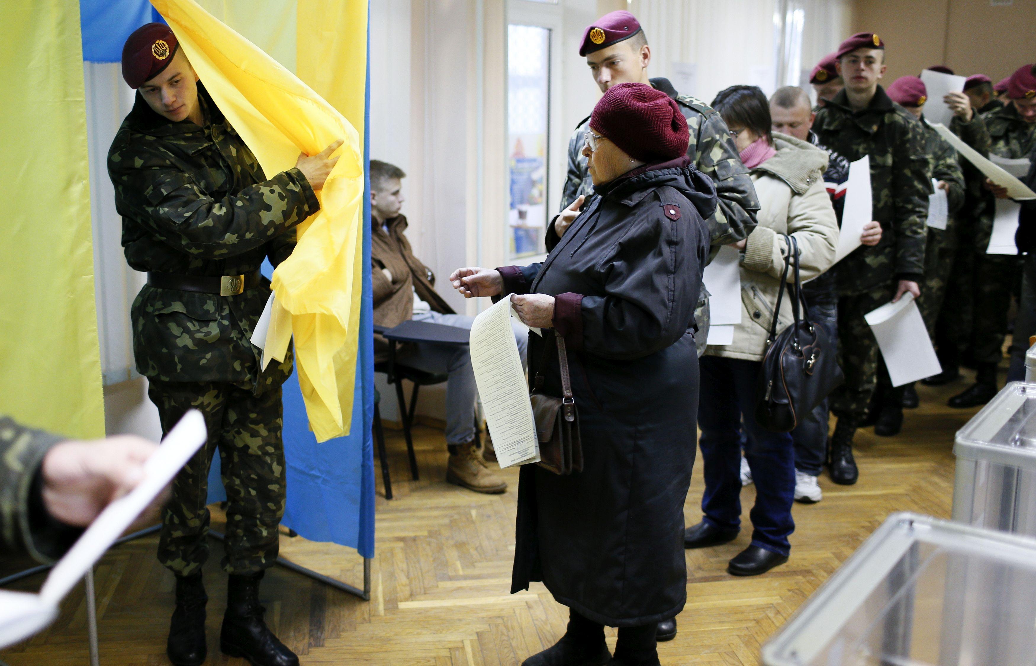 Колькі дзён ва Ўкраіне ідзе датэрміновае галасаваньне?