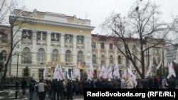 Pamje e një gjykate në Harkov