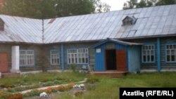 Омски өлкәсе Усть-Ишем районының Илчебага авылы мәктәбе