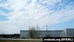 Саркафаг для адпрацаванага паліва побач з Ігналінскай АЭС