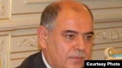 Tajikistan - Safarali Najmiddinov, the minister of finance of Tajikistan, undated