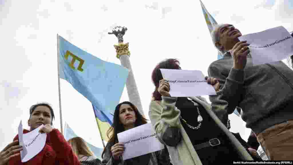 Әлемнің түкпір-түкпіріндегі белсенділер Қырым татарларын #StopCrimeanTatarGenocide хэштегі арқылы қолдап отыр.
