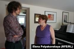 Рена Шерешевская и ее ученик Люка Дебарг