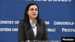Пресс-секретарь МИД Армении Анна Нагладян (архив)