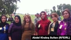 عضوات في مجلس نساء قرية برجي