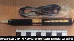 """""""Шпионская"""" авторучка"""