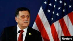 Libyan leader Fayez al-Sarraj (file photo).